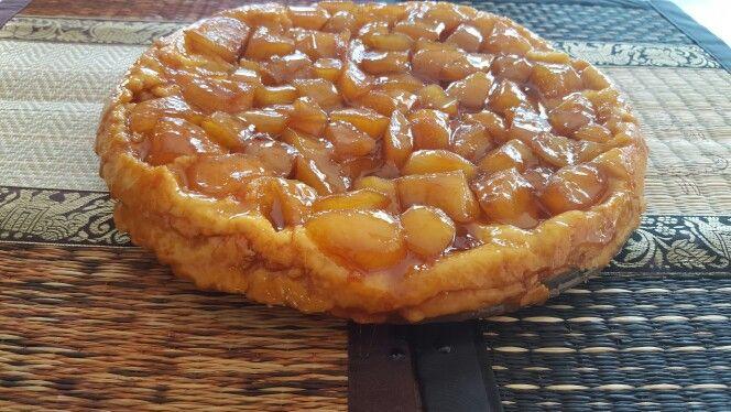 Tarte de maçã caramelizada