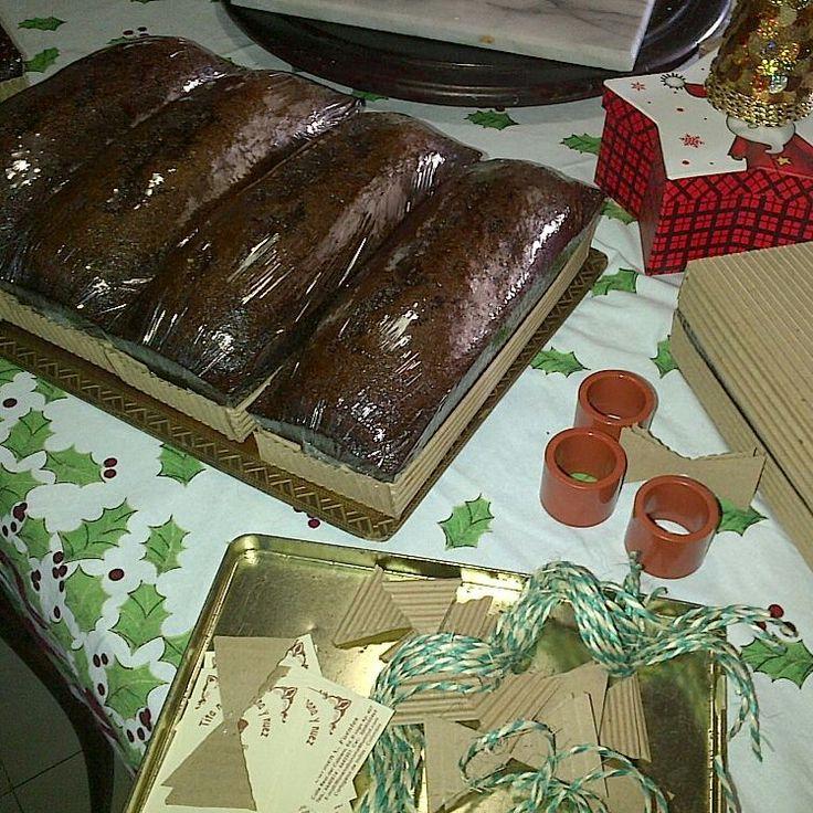 Empacando los panes