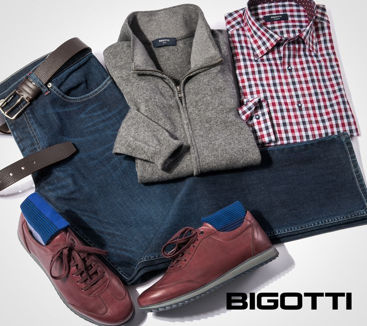 #Casual – #weekend #vibe ! #Discounts up to –50% in #Bigotti #men #clothing #stores and on www.bigotti.ro