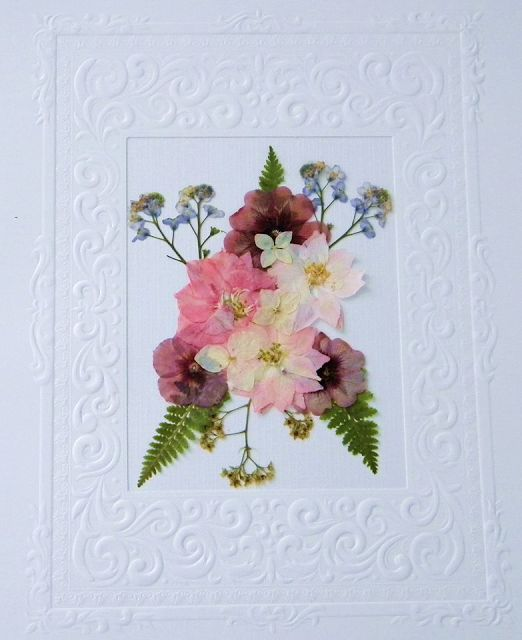 Sentimental Pressed Flowers