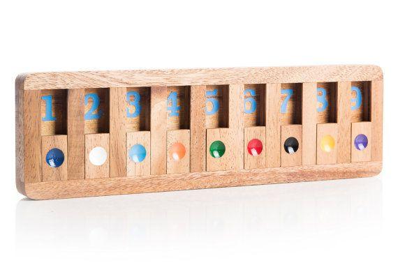 Shut The Box Educational game by KubiyaGames on Etsy