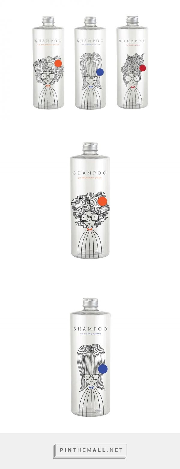 Shampoo (Concept) - Packaging of the World - Creative Package Design Gallery - http://www.packagingoftheworld.com/2016/05/shampoo-concept.html