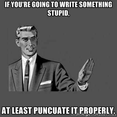 Grammar Guy | Meme Generator