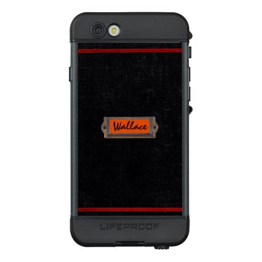 Old Text Book Name Plate LifeProof® NÜÜD® iPhone 6s Case