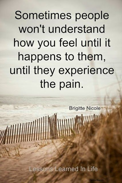 Feeling Hurt Quotes Sometimes people won't...