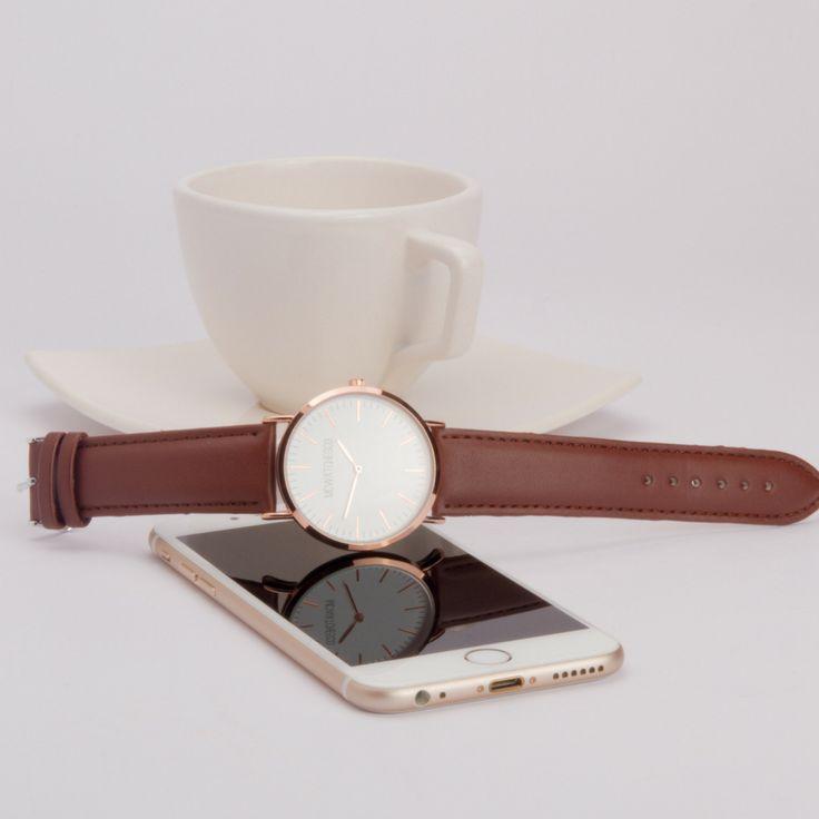 Relojes de diseño minimalista de mujer.  MCWATCHESCO.