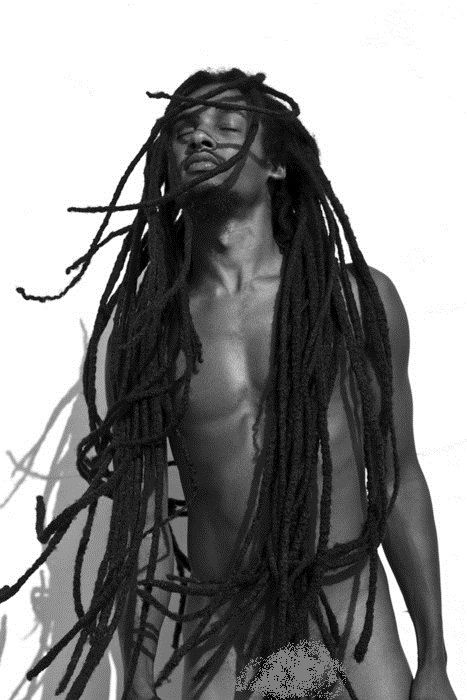 His Face Symbolizes How I felt When I Went Natural - His Locs are Beautiful~