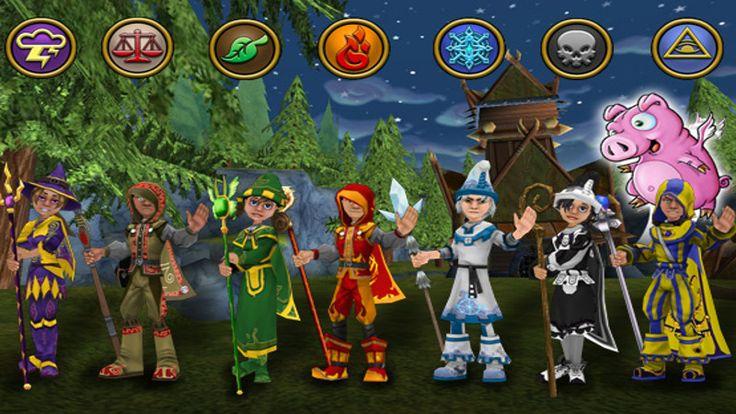 Wizard 101 Videos | Wähle eine von sieben Schulen in denen du unterschiedliche Zauber ...