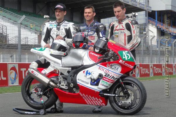 Préliminaires 24H du Mans 2015, prototype moto d'endurance MetisS - renna.fr