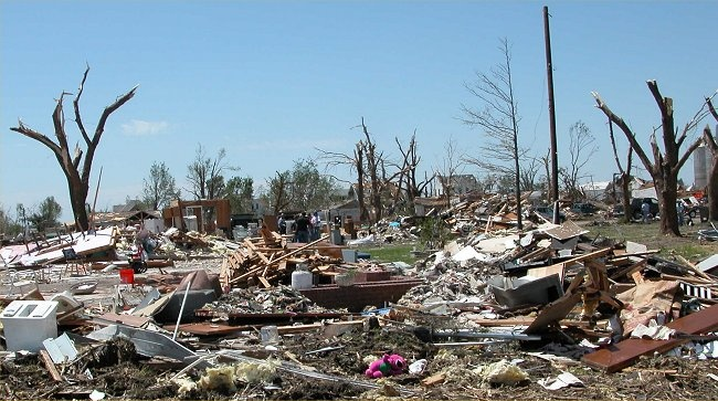 Hallam, Nebraska. May 22, 2004, Hallam was devastated by ...