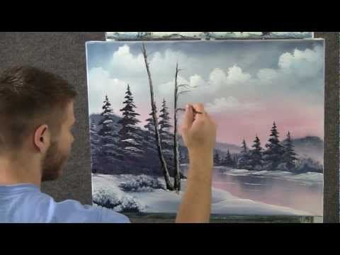 Paint with Kevin Hill - Frosty Morning wet on wet HD (+playlist)