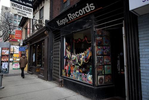 Kops Records Toronto.  A must if you love vinyl!