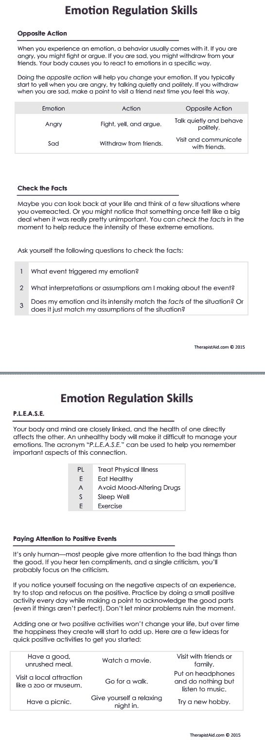 Free Worksheet How To Eat Fried Worms Worksheets 17 best images about for clients on pinterest mindfulness dbt emotion regulation skills preview