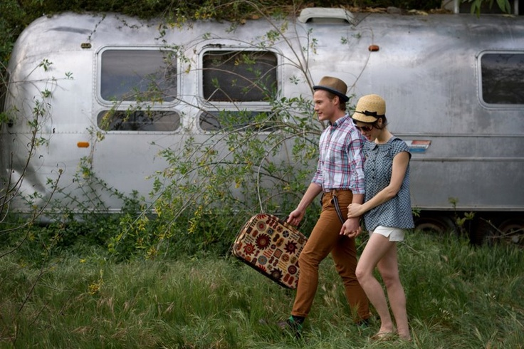 where can i get this hat?!  Chuck Hittinger and Ali Cobrin, both co-starring in the American Pie Reunion movie, photographed by Bethany Nauert.