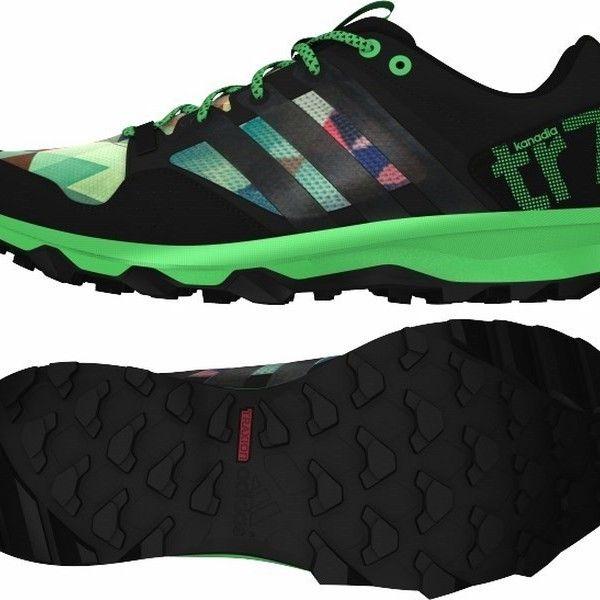 Adidas kanadia 7 TR férfi terepfutó cipő. Az egyik legkedveltebb terepfutó cipő visszatért, könnyebb és kényelmesebb, mint valaha. Ez a férfi futócipő, bármilyen terepre kész jól tapadó TRAXION™ külső talpával. OLVASS TOVÁBB!