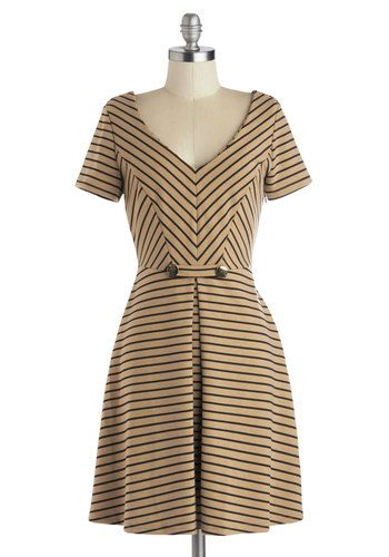 A Latte to Love Dress, #ModCloth