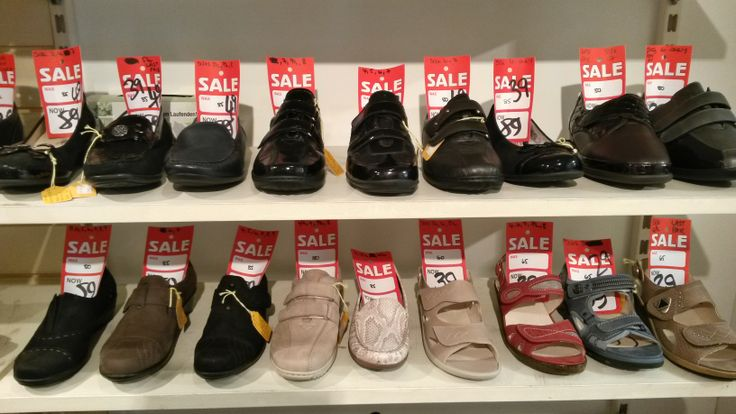 There are still plenty of ladies footwear bargains available in the Luck of Louth sale.