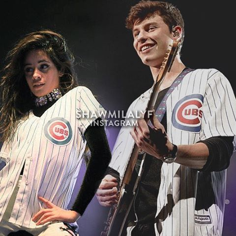 I'm running out of ideas, oh no. // they be looking cute in matching outfits.  #shawmila #shamila #shawnmendes #camilacabello #manip