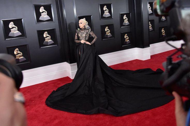 (Mike Coppola via Getty Images) Grammys 2018: Lady Gaga