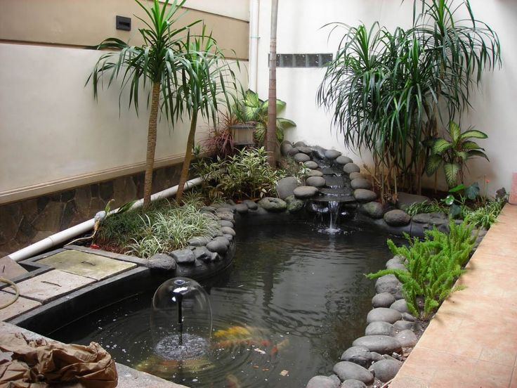 Inside Japanese Water Gardens | Garden Design, Minimalist Garden Design  With Koi Fish Pond Adorned