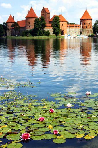Trakai Island is located near Vilnius. Lituania