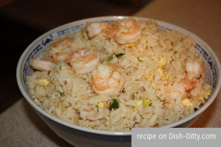 Chinese Shrimp Fried Rice Recipe