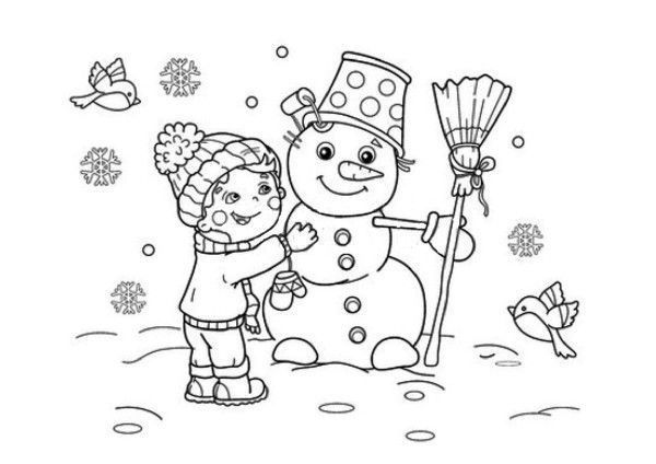 Coloriage Hivers 12 Majestic Coloriage Hivers Photos Coloriage