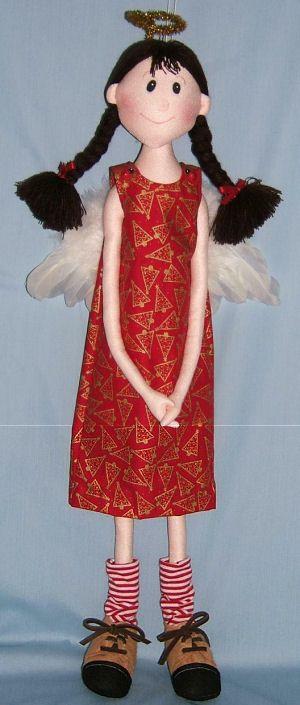 Napkin/Sisters Doll - Free Cloth Doll Pattern: Dolls Free Patterns, Free Dolls Patterns Sewing, Clothing Patterns, Christmas Angel, Free Dolls Sewing Patterns, Clothing Dolls Patterns Free, Sisters Dolls, Angel Patterns, Angel Dolls Patterns
