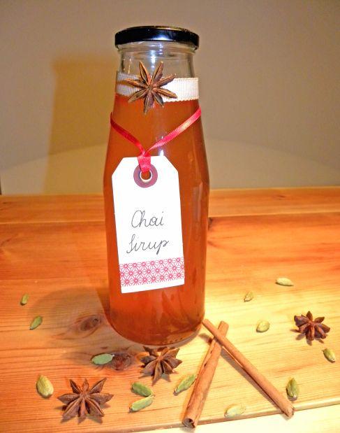 Geschenke aus der Küche: Chai Sirup