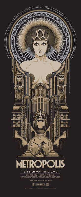 Poster / Ken-Taylor-Metropolis-variant-mondo