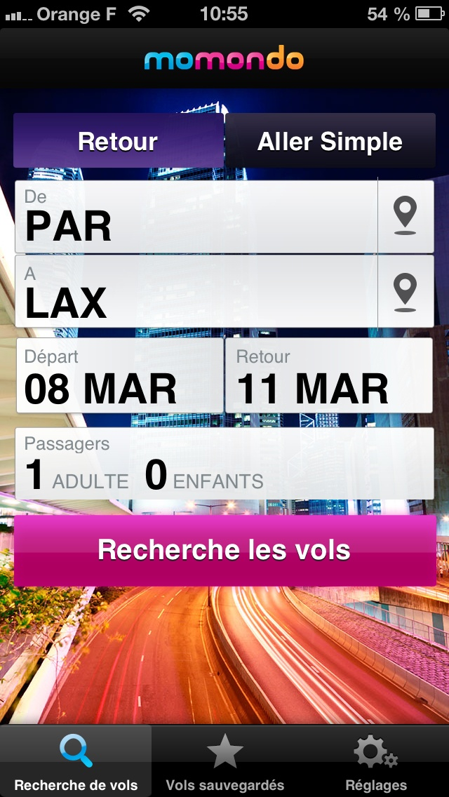 * Great UX & look and feal.  Momondo - great for international travel