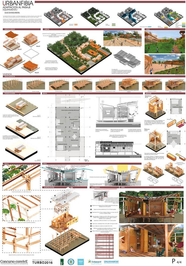 Convive XI - Urbanfibia - adaptación al paisaje (vivienda)