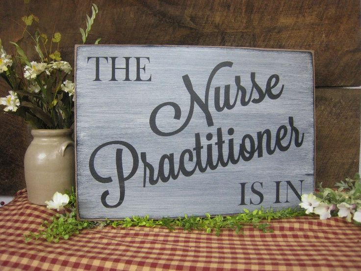 The Nurse Practitioner Is In Rustic Style Nurse Sign Great Entry Sign Graduate Nursing School Medical Office Decor by ExpressionsNmore on Etsy