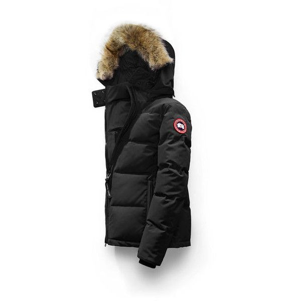 Chelsea Parka Canada Goose ($800) ❤ liked on Polyvore featuring outerwear, coats, canada goose, canada goose parka, parka coat and canada goose coats