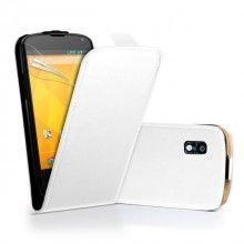 Funda Google Nexus 4 Klam Flip - Blanca  AR$ 34,65