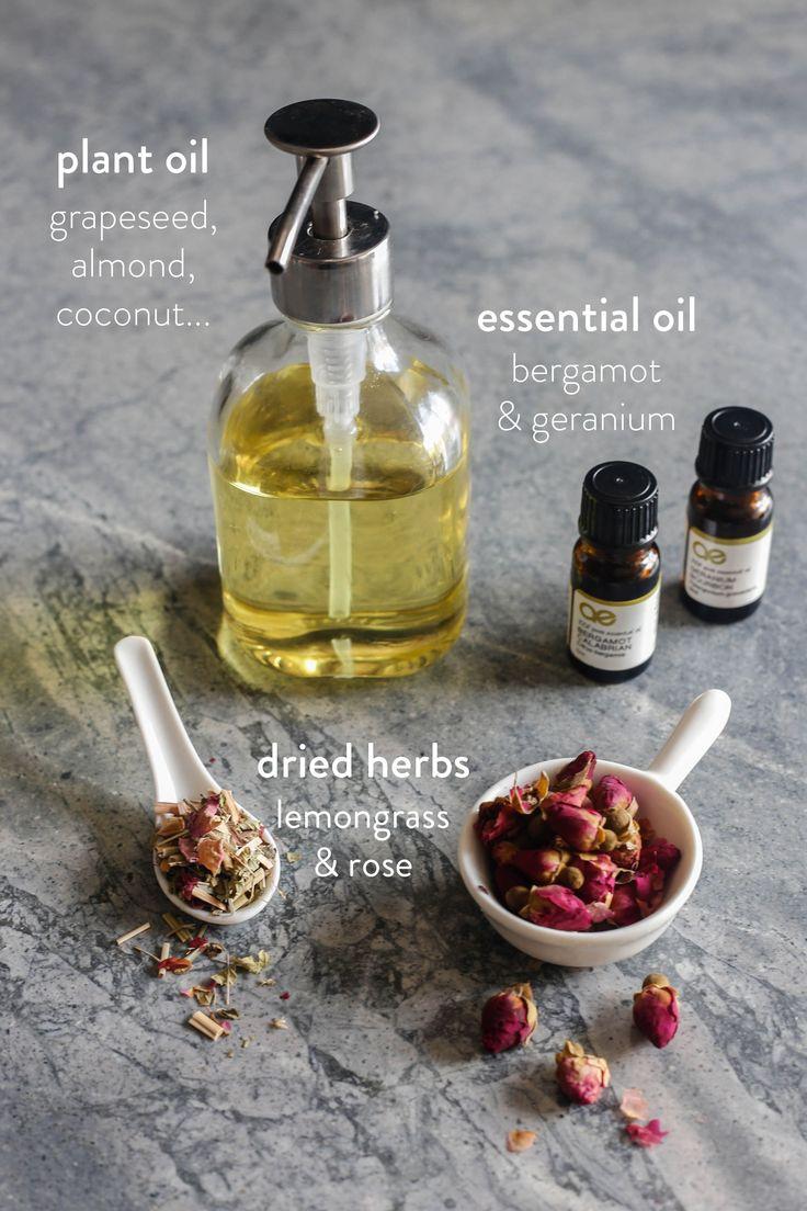 Summertime Breeze Body Oil Recipe | littlegreendot.com