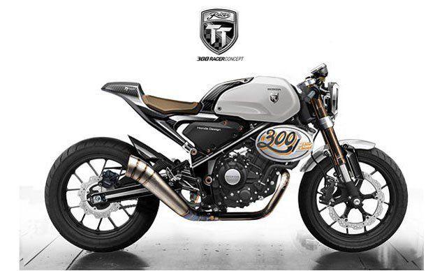 Honda 300 TT Racer Concept - 2016 Bankok International Motor Show