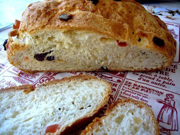 Welsh Bara Brith (pain brioché du Pays de Galle)