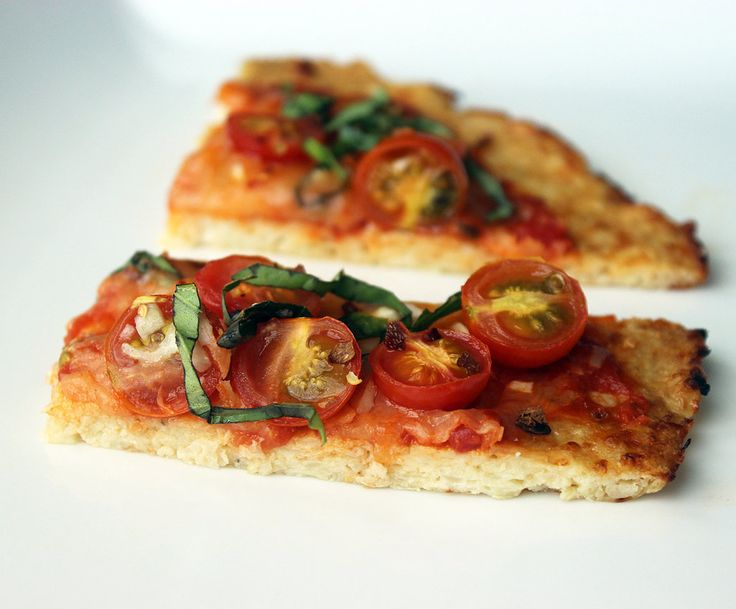 This veggie-powered cauliflower pizza crust proves that you don't need flour to make an amazing pizza. Fres...