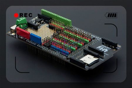 15 best diytelecommande images on pinterest arduino projects dfrobot mega sensor shield io expansion board v24 for arduino mega affiliate fandeluxe Images