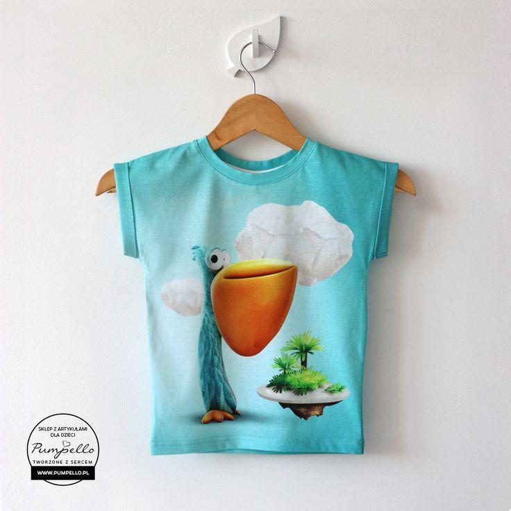 Pelikan koszulka dla dzieci