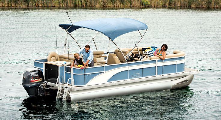 SX22 Cruise & Fishing Pontoon Boats by Bennington