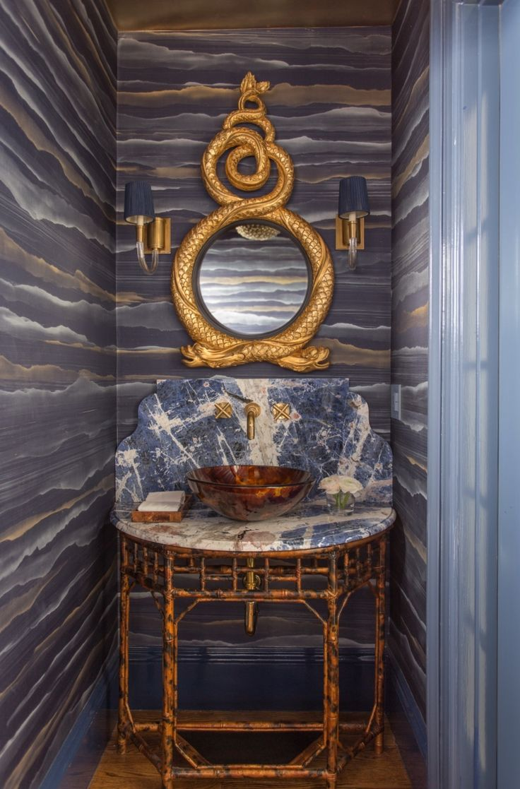 Powder Room By Amy Kartheiser Design: In Good Taste: Kristin Paton Interiors (With Images