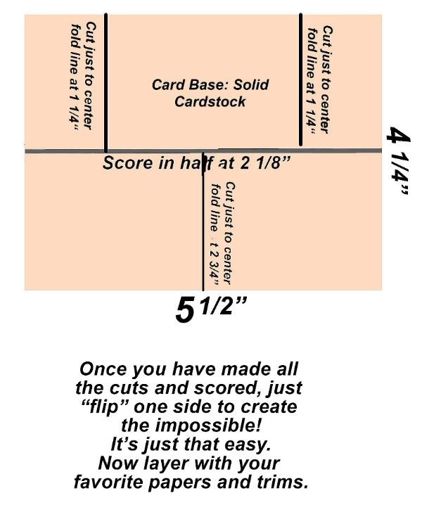 Pin By Barbara Christmann On Impossible Cards Inspirational Cards Card Making Templates Folded Cards