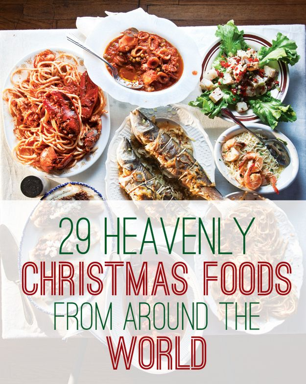29 Heavenly Christmas Foods From Around The World Now's the perfect time to host a culturally-diverse Christmas potluck. #HolidayPantryEssentials