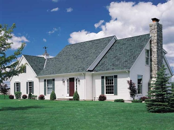 72 best colonial and capes images on pinterest home for Colonial cape cod house plans