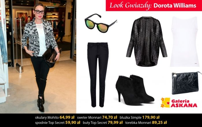 Look gwiazdy: Dorota Williams