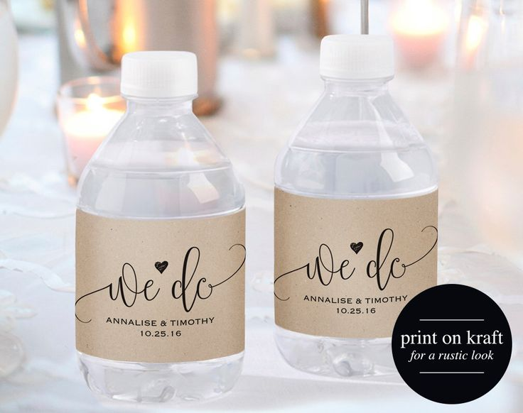 Best  Water Bottle Labels Ideas On   Water Bottle