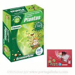 Jeu sur l'écologie des plantes de la marque portugaise Science4you vendu sur le site français www.portugalinbox.com
