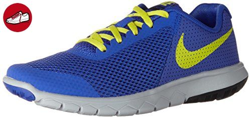 Nike Unisex-Kinder Flex Experience 5 Gs Laufschuhe, Blau (Paramount Blue/Electrolime/Black/Wolf Grey), 38 EU - Nike schuhe (*Partner-Link)